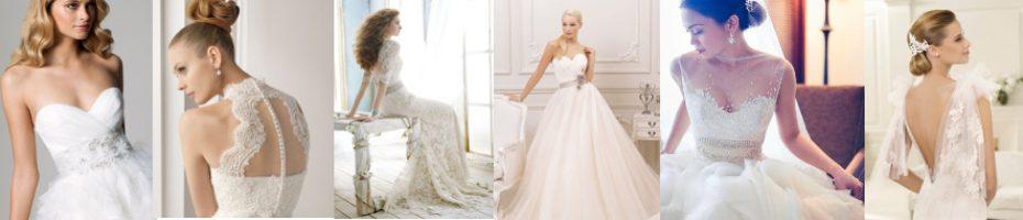 Najmodniejsze suknie ślubne 2018